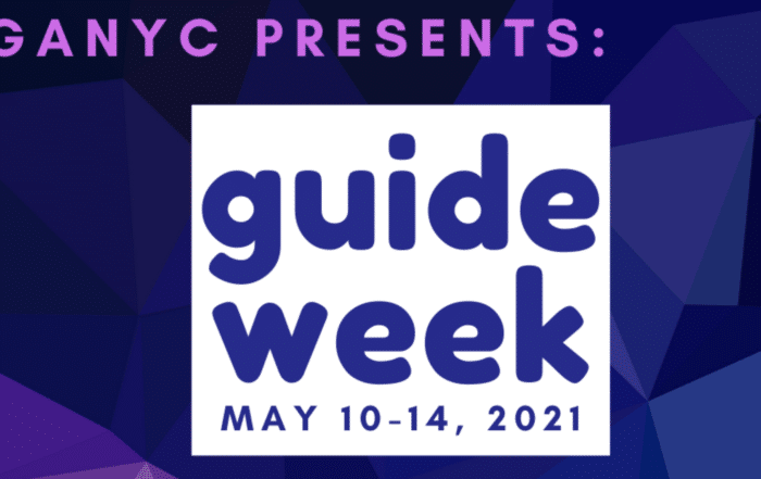 "Logo for Guide Week ""May 10-14, 2021"""
